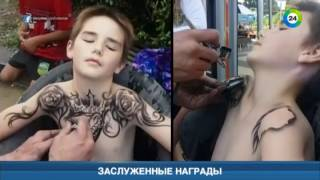 Как менялись стили и мода на тату. Эфир от 28.04.17