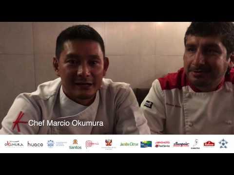 Cozinha Nikkei, fusão de Brasil, Japão e Peru, com os chefs Márcio Okumura e Christian Bascones