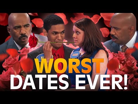 Valentine's Day Special! DATING DISASTERS! | Family Feud