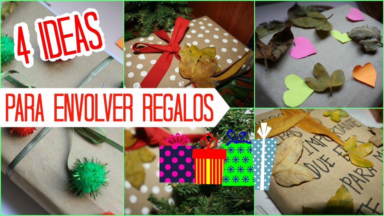 Ideas creativas para envolver tus regalos de navidad - Envolver regalos de navidad ...
