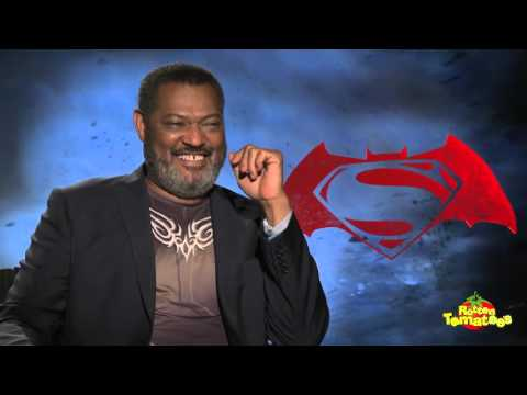 Batman v Superman Interviews: Laurence Fishburne