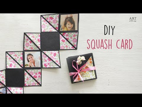 How to make a Squash Card | DIY Greeting Card | Gift Ideas