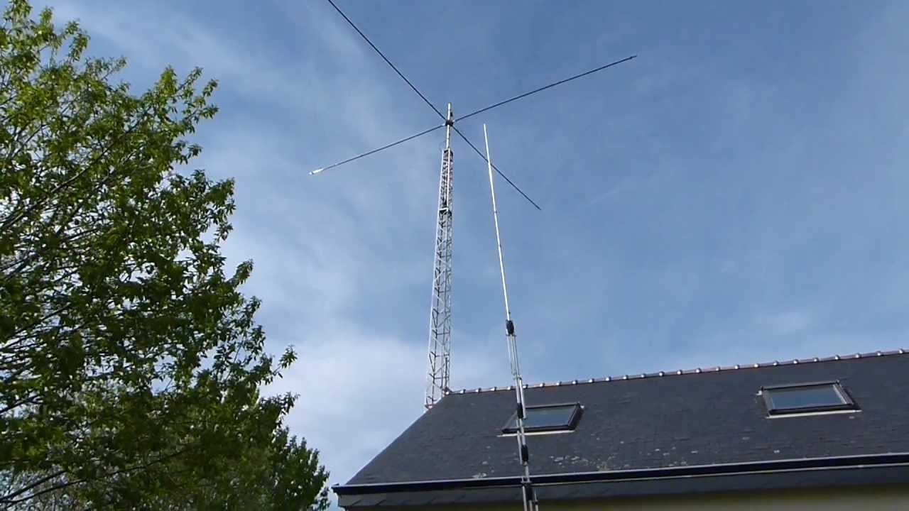 New Tower With New Spiderbeam Antenna Hd 5 Bds Youtube