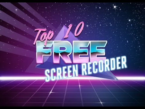 top 10 free recording software