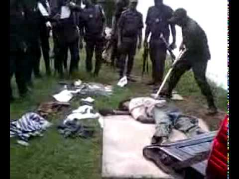 Laurent Gbagbo Ivory Coast police for...