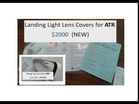 ATR (PMA)Landing Light Lens & Wing Tip Lens Kits