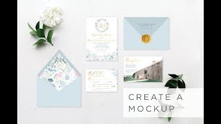 Creating a Mockup Proof in InDesign – Stationery & Brand Design | Sarah B. Calligraphy