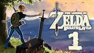 Let's Play Zelda Breath of the Wild [German][Blind][#1] - Link, öffne die Augen!