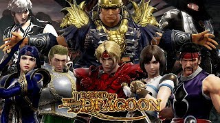 Dart vs Lloyd & Dragoons vs Fruegel - Legend of Dragoon x Soul Calibur