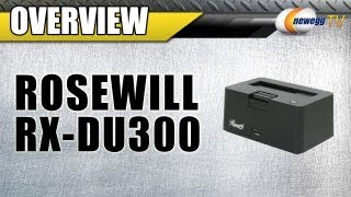 Overview: Rosewill RX-DU300 2.5
