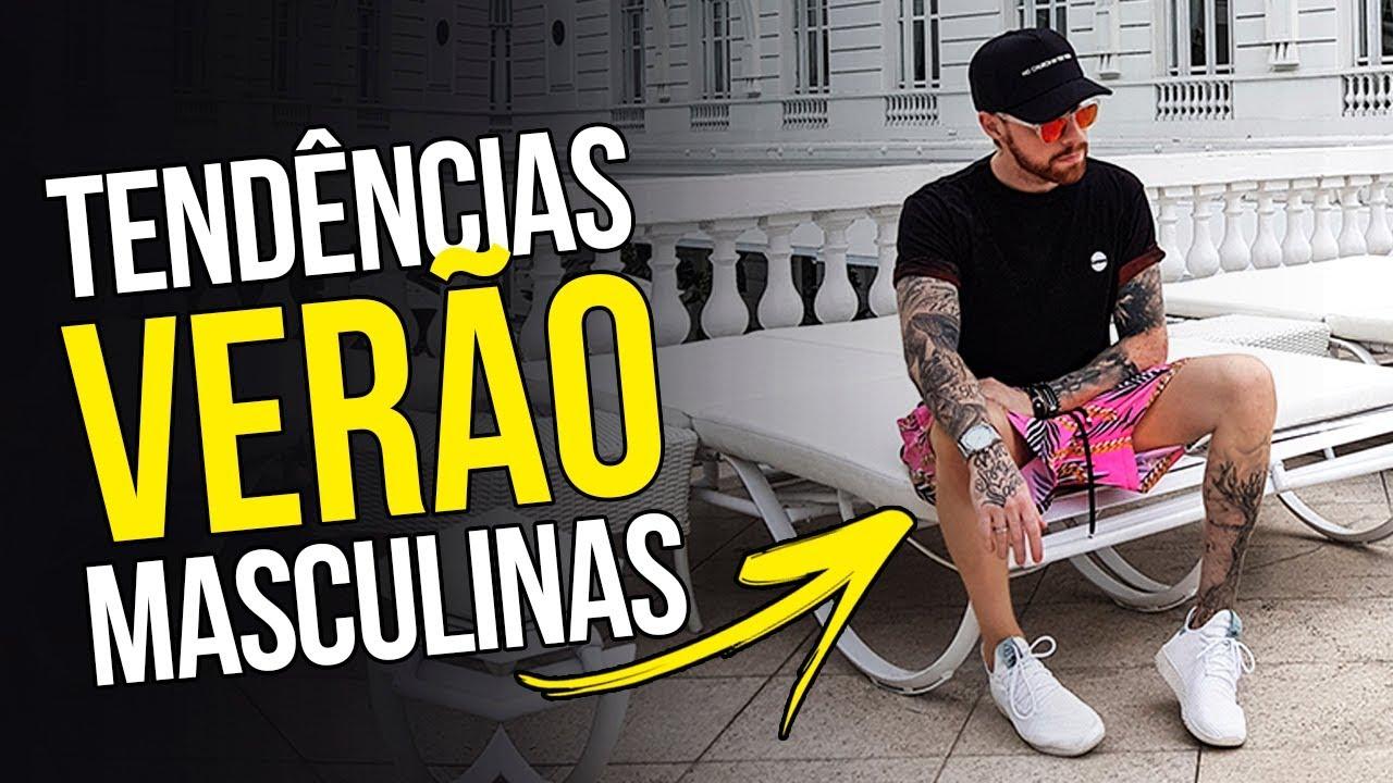 😎 Roupa de Homem VERÃO 2018 - Tendências Masculinas  37 😎 - YouTube 7355c66013623