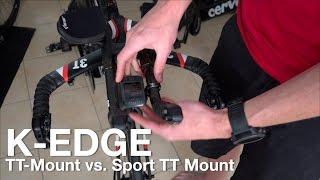 K-Edge TT-Mount Vs Sport TT-Mount Für Garmin Edge & Wahoo Elemnt Bolt. Test & Tipps.