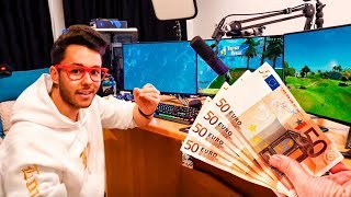 LE DOY 50€ a GREFG por KILL en FORTNITE! #2