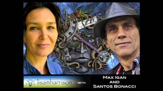Max Igan and Santos Bonacci w' Lisa Harrison