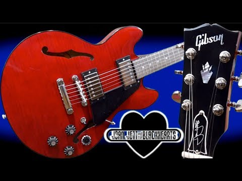 Why Did Joan Jett Adopt This Guitar? | NEW 2019 Joan Jett Signature ES-339 Figured | Review + Demo