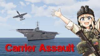 Carrier Assault: Operation Enterprise Part 1 (Arma 3 CSAT Malden Campaign Episode 17)