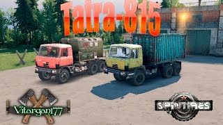Spin Tires Tatra-815