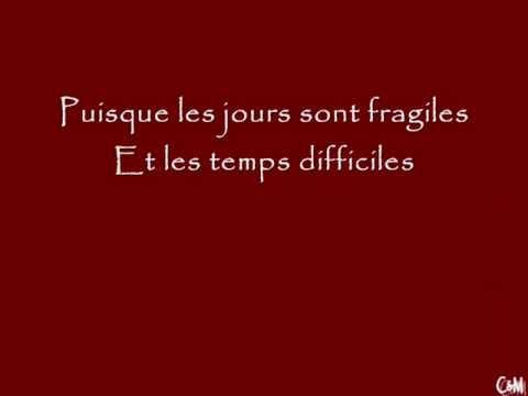 1789- Les amants de la bastille!!! A quoi tu danses (avec parole)!!!