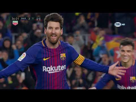 [Liga] Barcellona vs Girona 6-1 Gol e highlights - 24/02/2018 HD