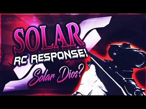 #SolarRC: My Response! (LOST!) #SolarPRC @SolarRNLD @SolarBass