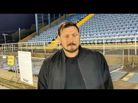 Marc Bircham post match Drogheda United 24 Sept 2021
