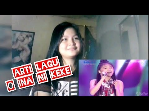 REACTION Anneth Nasution - O Ina Ni Keke - Indonesian idol junior 2018 / ARTIKA ANJALY