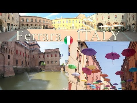Ferrara, City of the Renaissance | Family Fun Trip City Highlights | Italy | Kate Claudia ✔