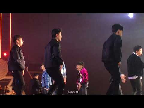 EXO엑소-다이아몬드 DiamondSEHUNCHENCHANYEOL→SEHUNCHENBAEKHYUN focusGolden Disk Awards4K