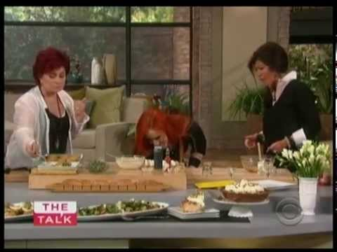 The Talk daytime TV show Interview - Chef Adrianne Calvo - The PR ...