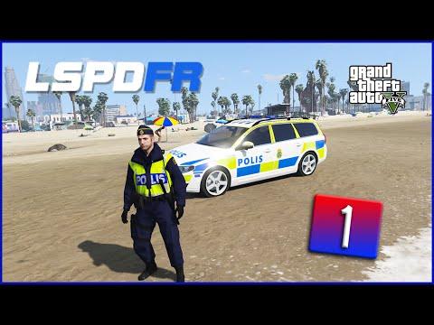 GTA 5 LSPDFR #1 - Trafik polis (Svenska)