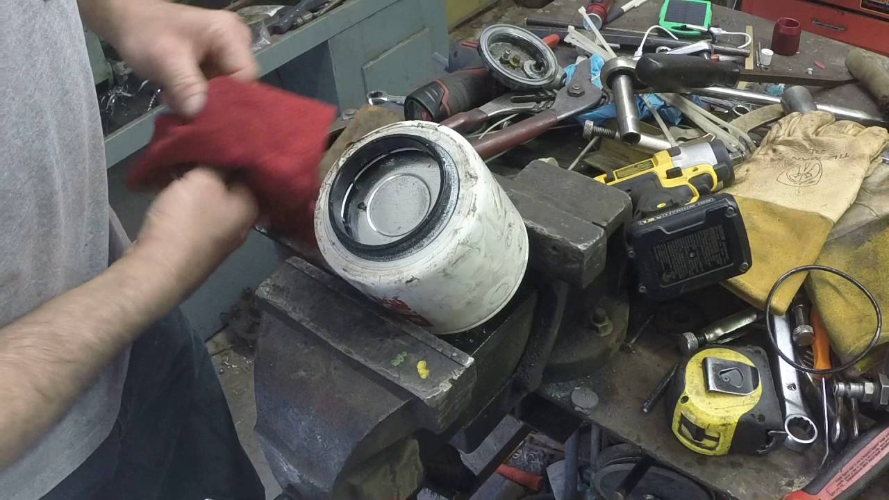 Ford 7.3 idi fuel filter problem - YouTube