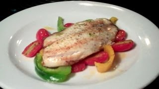 Lime Tilapia With Peppers