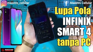Lupa password pattern infinix Hot S3 X773 factory reset recovery.