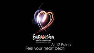 Eurovision 2011 All 12 Points