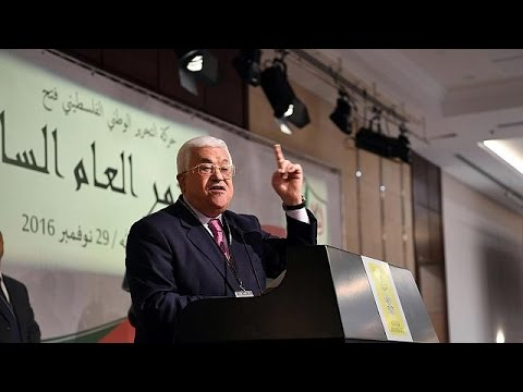 Fatah re-elects Mahmoud Abbas