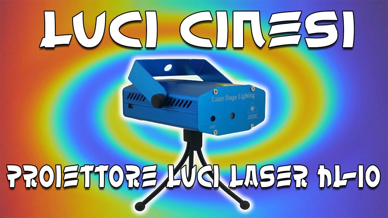 Proiettore Luci Natalizie Visto In Tv.Test Proiettore Luci Laser Hl 10