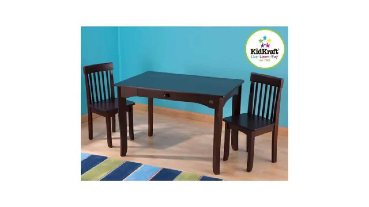 Kidkraft Avalon Table And Chair Set Espresso Reviews