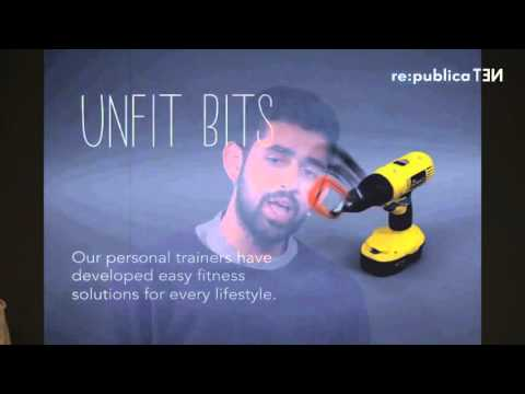 re:publica 2016 – Tega Brain, Surya Mattu: Unfit Bits: Free Your Fitness from Yourself