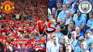 Manchester City fans compared with Manchester United fans