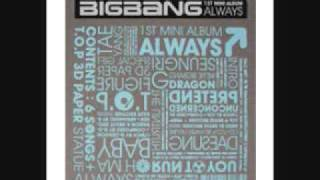 Big Bang-Oh ma baby