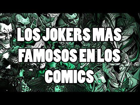 LAS VERSIONES MAS FAMOSAS DE EL JOKER EN LOS COMICS