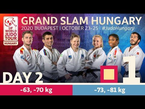Grand Slam Hungary 2020 - Day 2: Tatami 1
