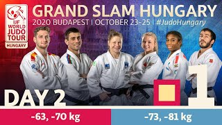 Grand Slam Hungary 2020 - Day 2: Tatami 1