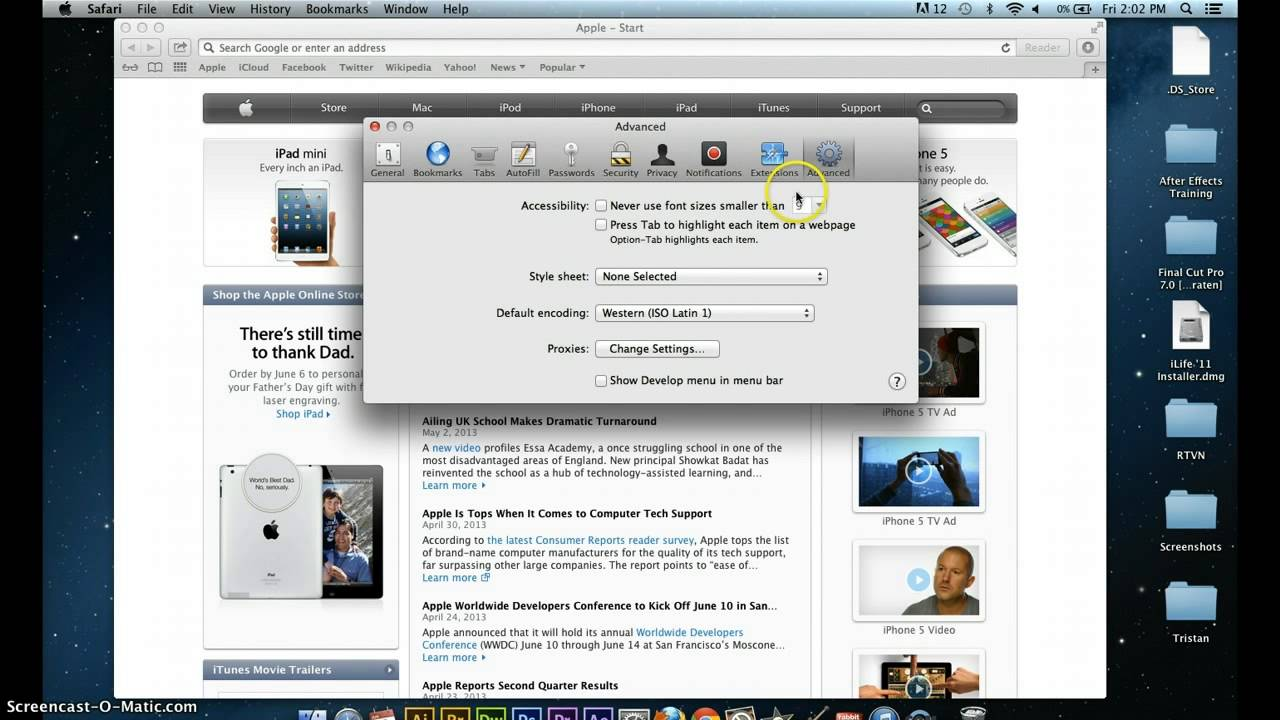 How To Clear Your Cache On Safari With A Mac Os (rabbit Tv)