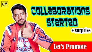 Important announcement   Starting collaboration series...   Let's Grow