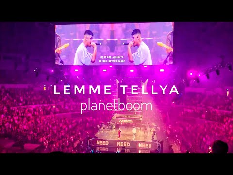 LEMME TELLYA | planetboom LIVE in MANILA (Planetshakers Praise Party / Conference 2019)