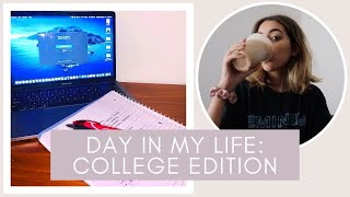 day in my life: zoom university edition
