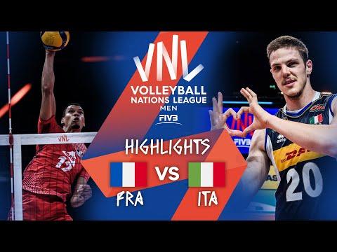 FRA vs. ITA - Highlights Week 4 | Men's VNL 2021