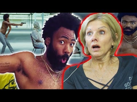 Mom REACTS to Childish Gambino - This Is America