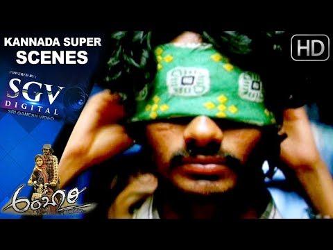 Ambari Kannada Movie | Heroine surprises Yogesh | Kannada Super Scenes  Supreetha